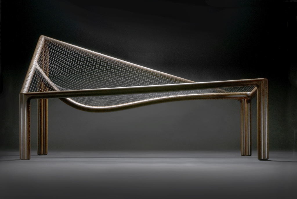<span>George Ingham</span>Chaise longue 1991