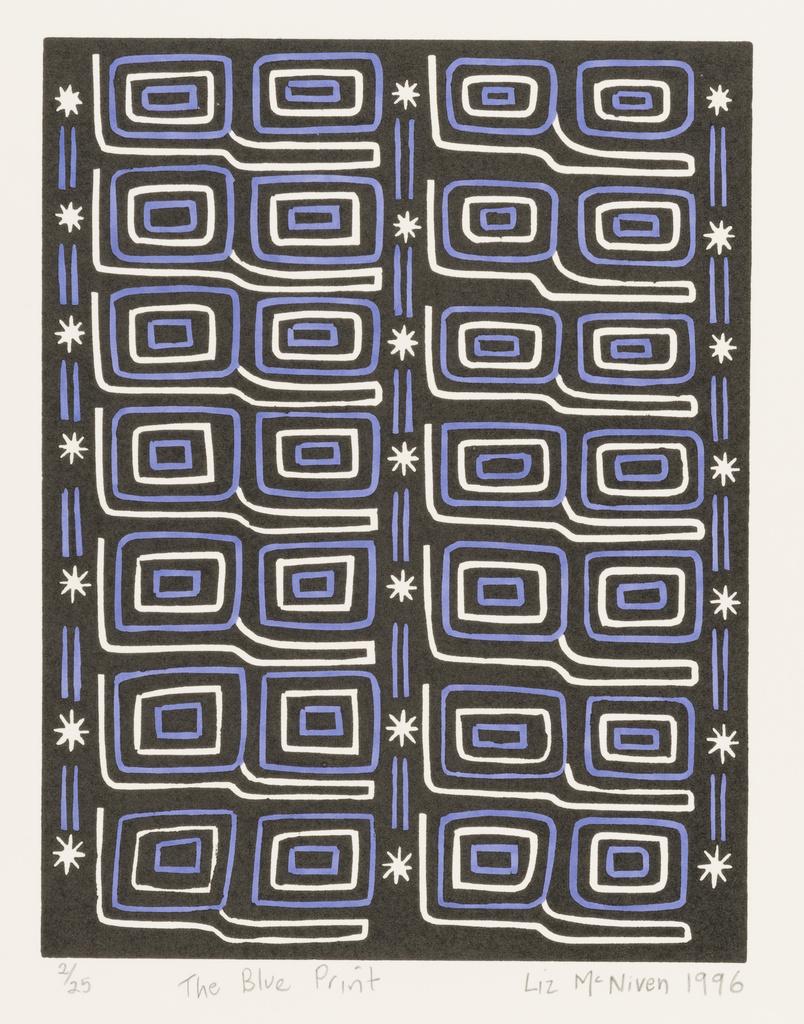 <span>Liz McNiven</span>The Blue Print 1996