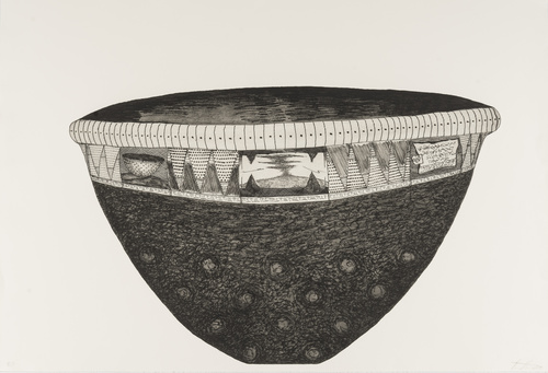 <span>Brian Hirst</span>Offering Bowl and Shadow 1997