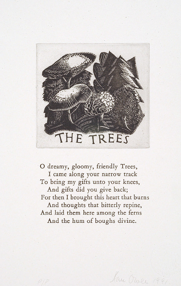<span>Ann Owen</span>The trees 1991