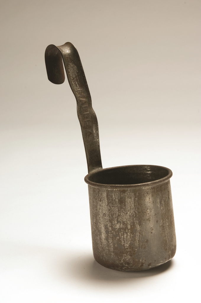 <span>unknown maker</span>Milk ladle c.1950s