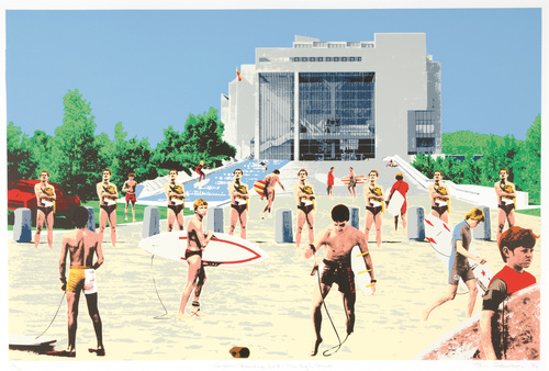 <span>Toni Robertson</span>Canberra beaches No.3: the High Court 1984