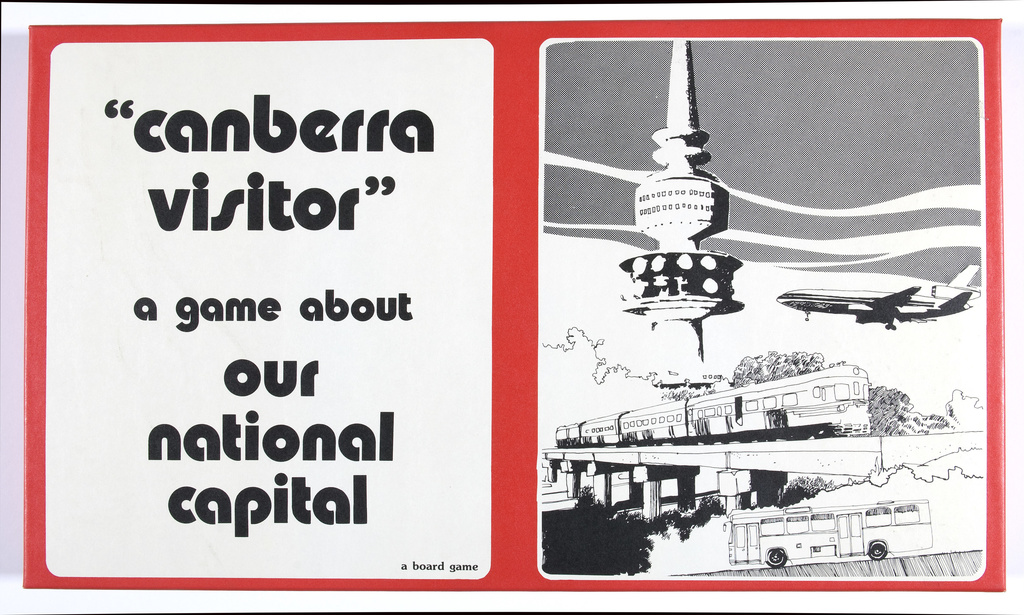 <span>Patwell Education Productions</span>Board game: Canberra Visitor 1983