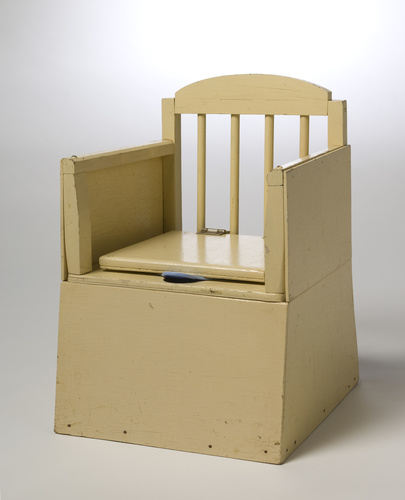 <span>Norman Swindon</span>Child's commode circa 1960