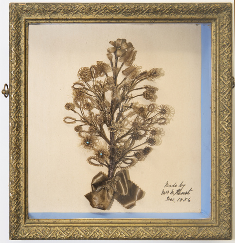<span>M Kunst</span>Hairwork picture 1856
